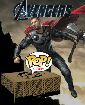 Caja sorpresa: Avengers