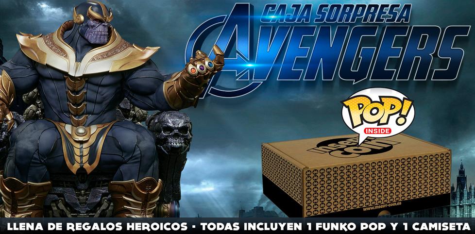 Caja sorpresa Abril: Nueva caja Avengers
